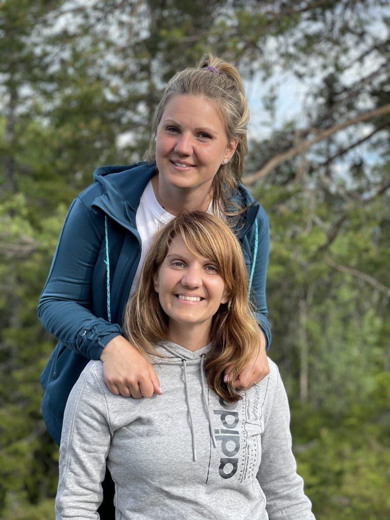 Maja Öst och Ida Morris